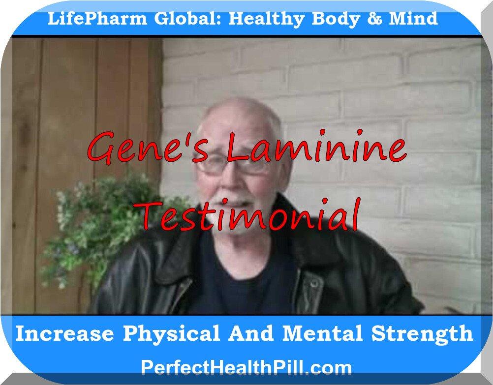 Laminine Testimonial - Gene