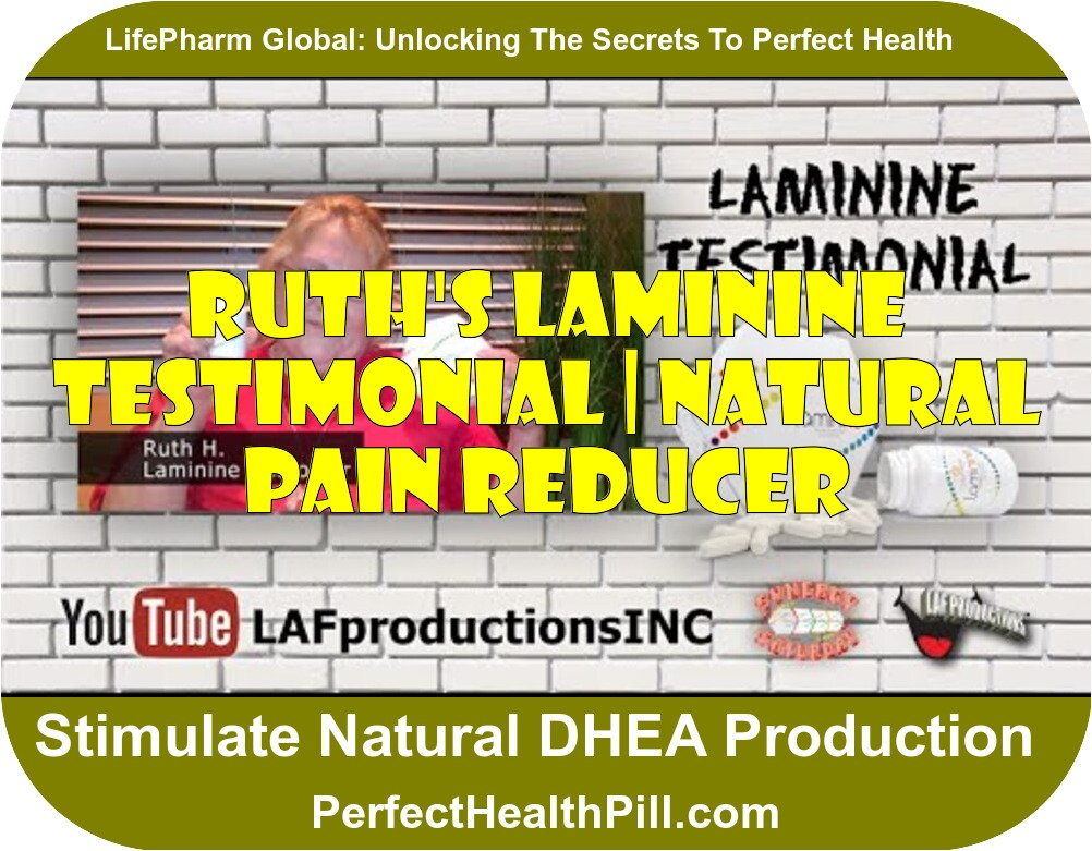 Laminine Testimonial | Ruth H. | Natural Pain Reducer