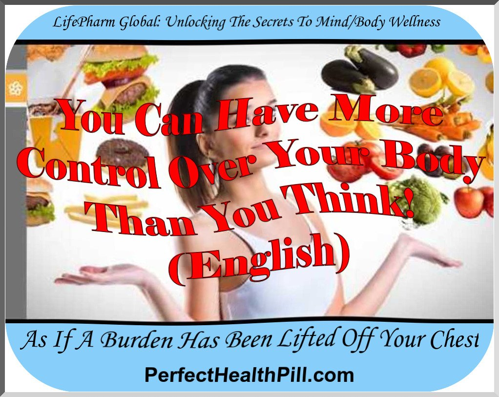LifePharm - You can have more control over your body than you think! (english)