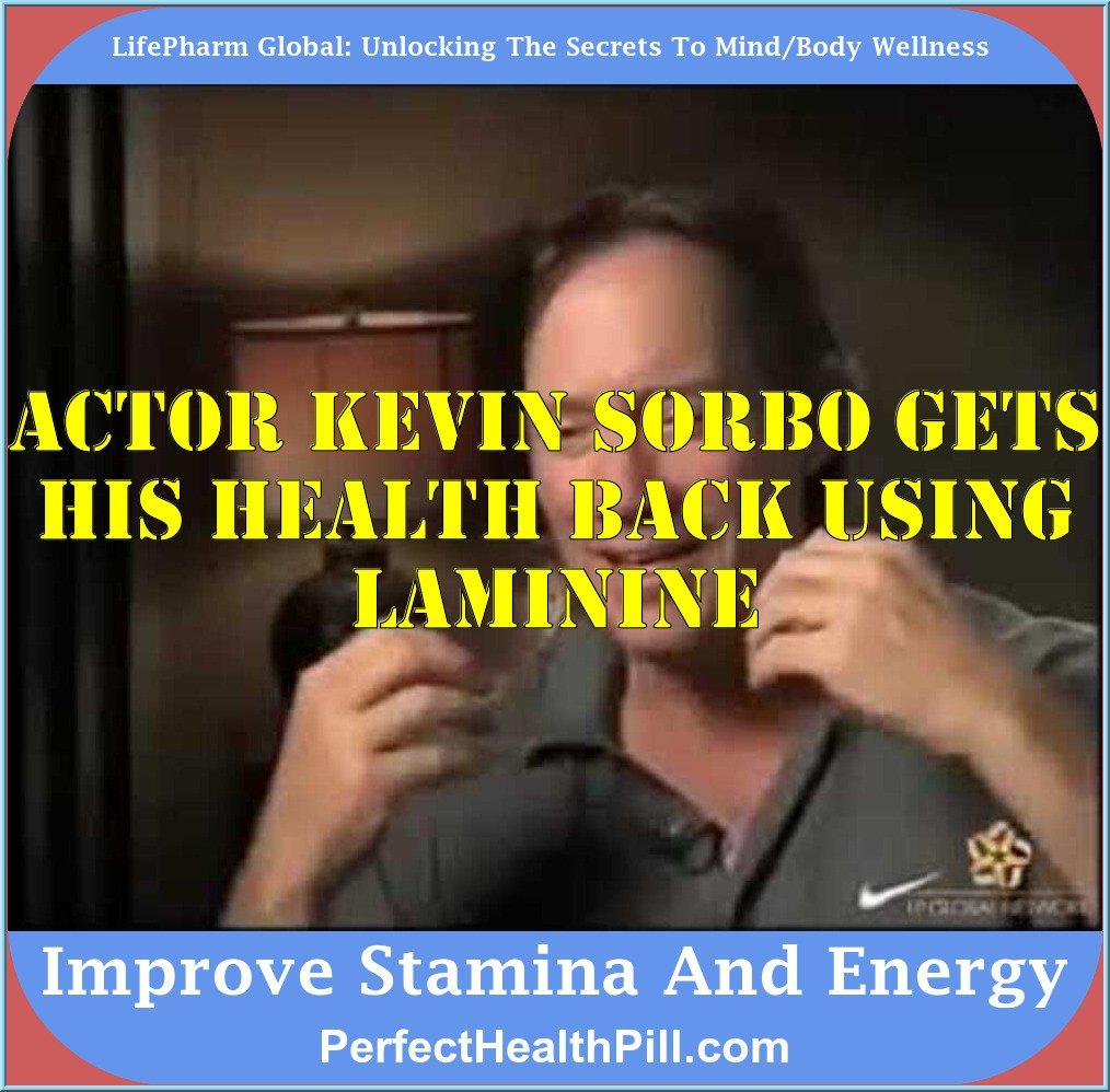 Kevin Sorbo Testimonial Laminine