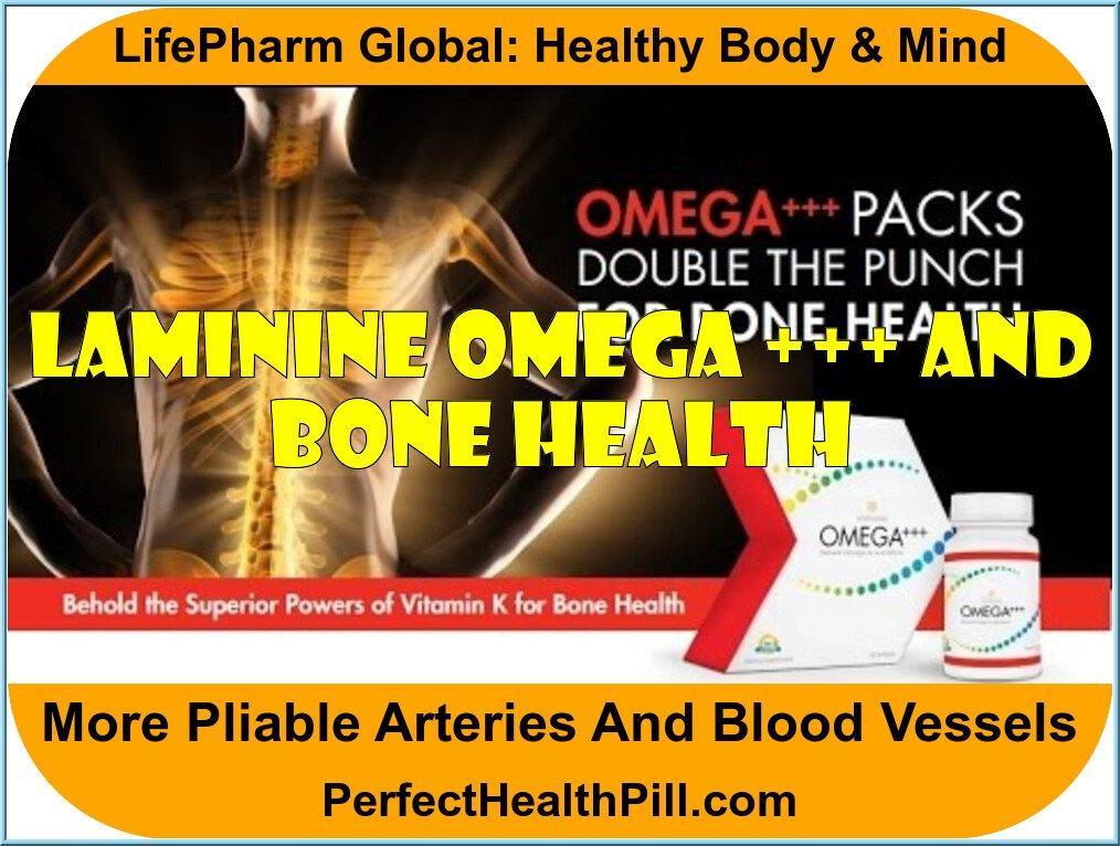Laminine Omega +++ and Bone Health