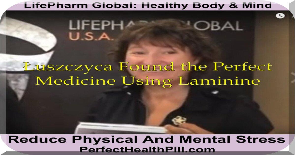 Laminine łuszczyca