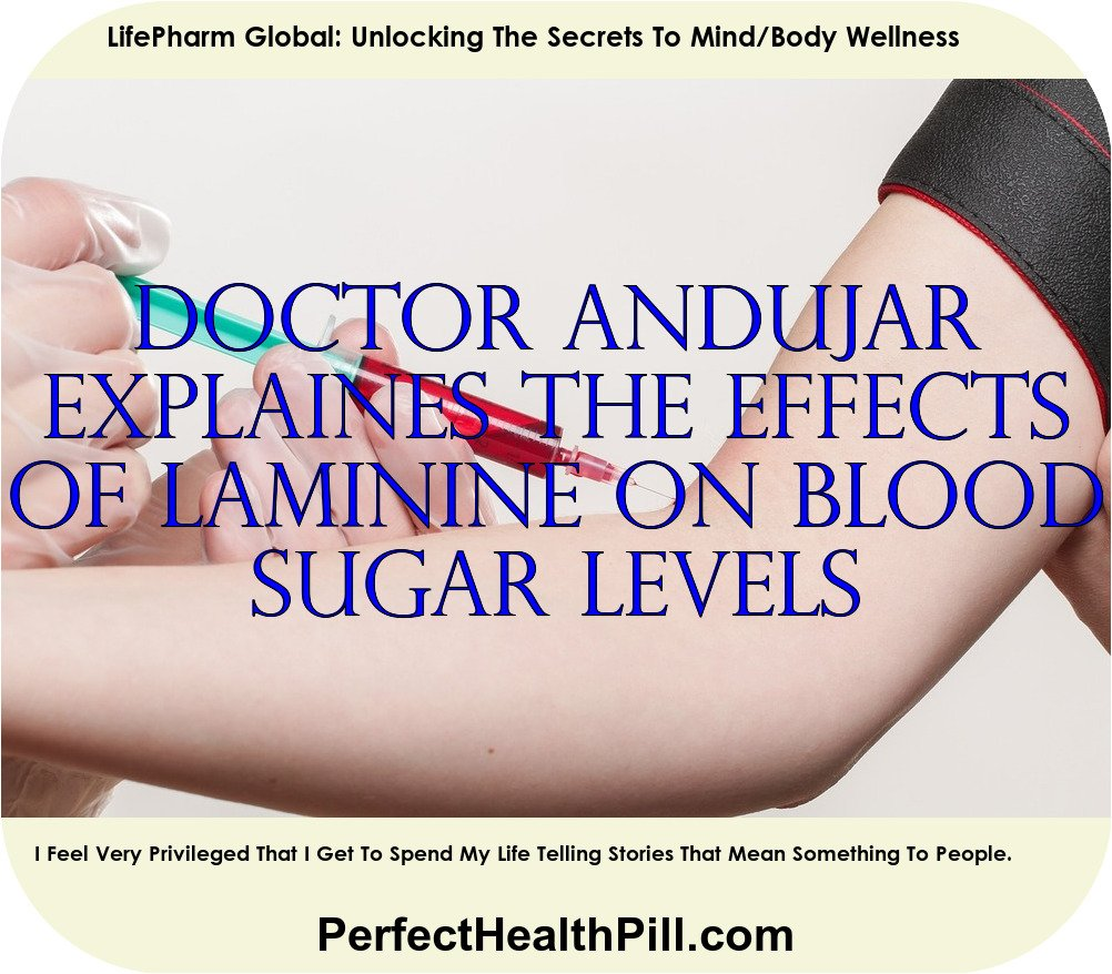 The Effects of Laminine on Normal Blood Sugar Level