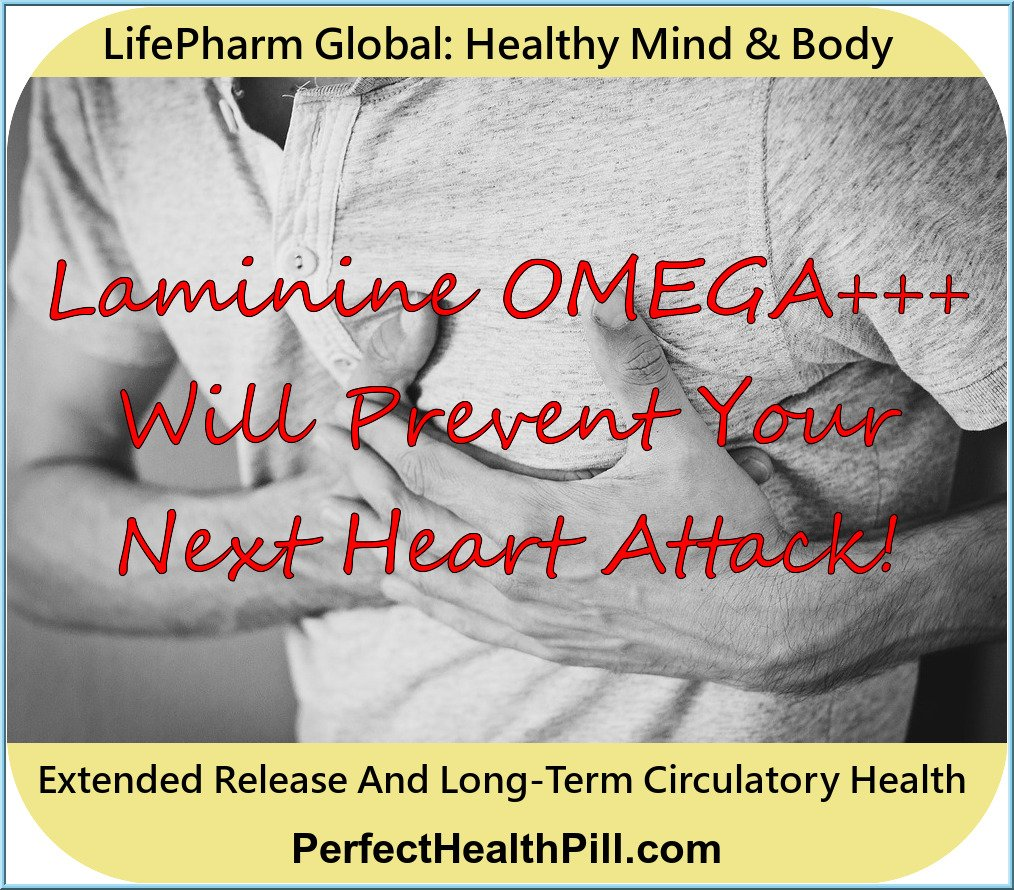 LifePharm Global Network Laminine OMEGA+++ enhancing your circulatory system