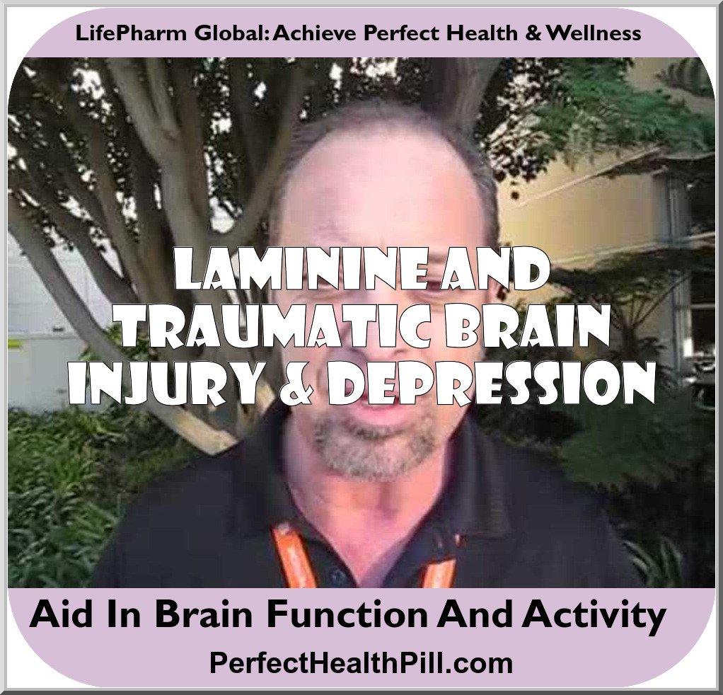 Laminine and Traumatic Brain Injury / Depression