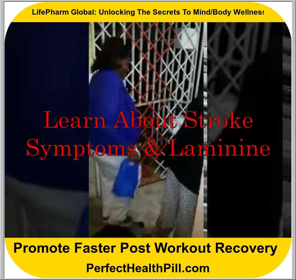 Laminine helps Stroke Patient in Jamaica