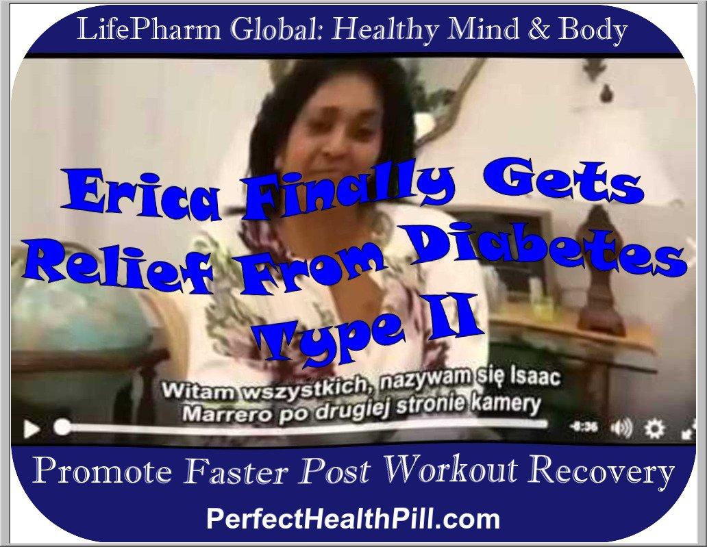 LAMININE Testimonial van Erica - Diabetes Type II