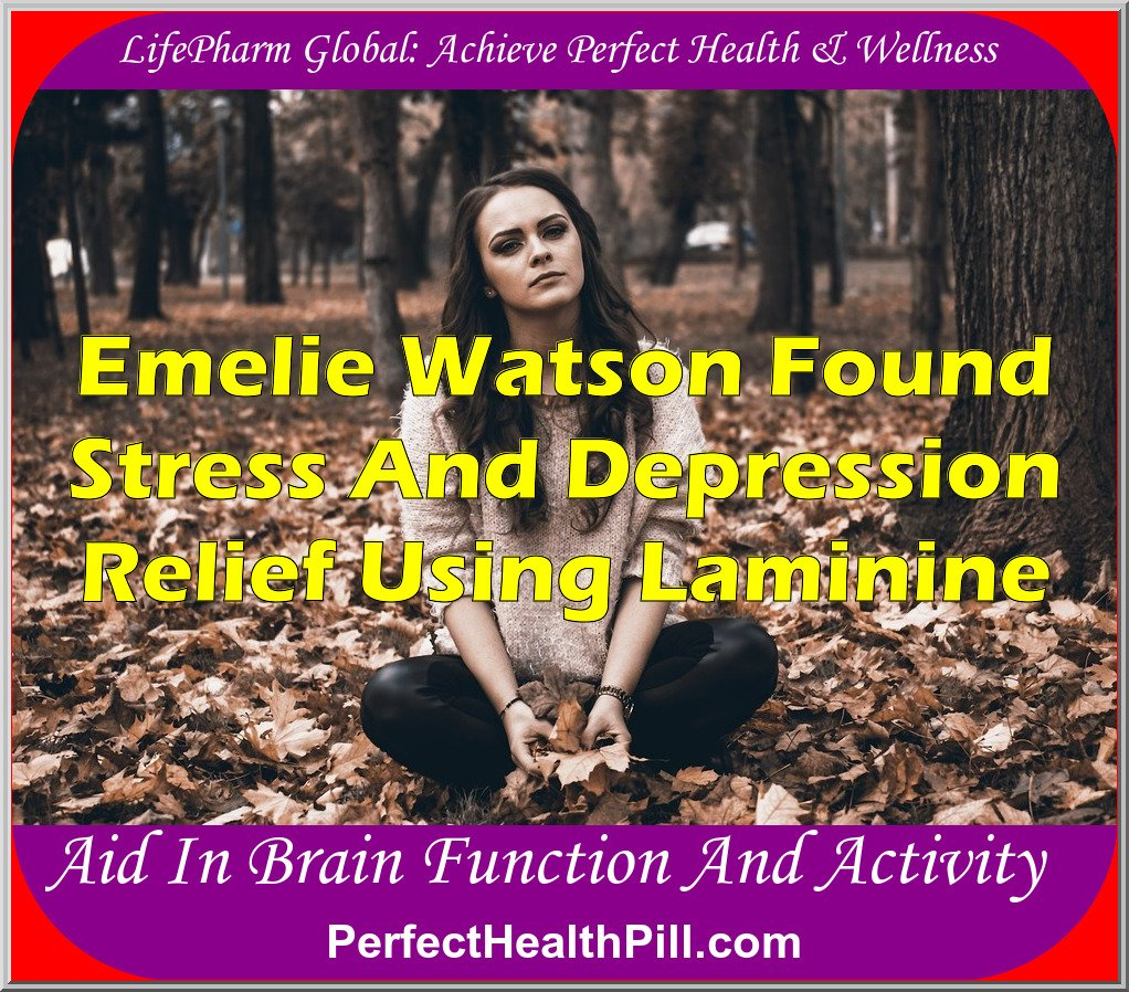 Laminine Emelie Watson Anti Stress and Depression